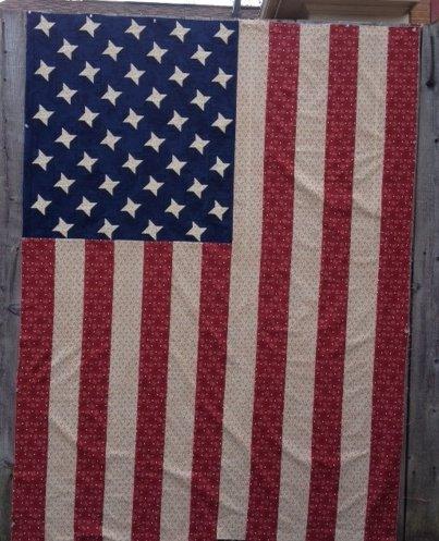 1896 Utah Flag Quilt Pattern - RRQ Original