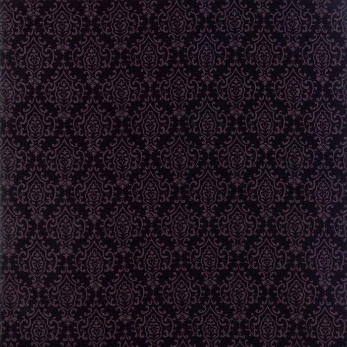 19797-16 Monatone Damask ebony black
