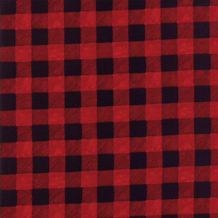 19836-16B Buffalo Plaid red black