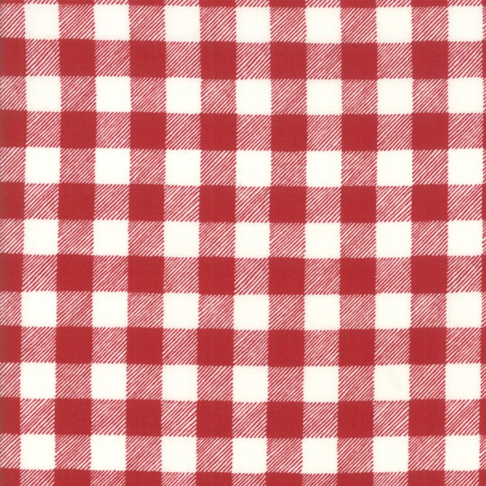 19897-11 Buffalo Plaid red white
