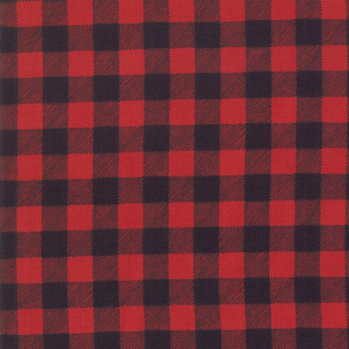 19897-12 Buffalo Plaid red charcoal