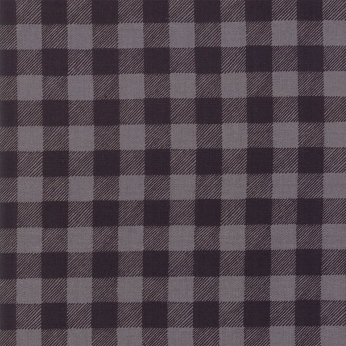 19897-14 Buffalo Plaid charcoal grey