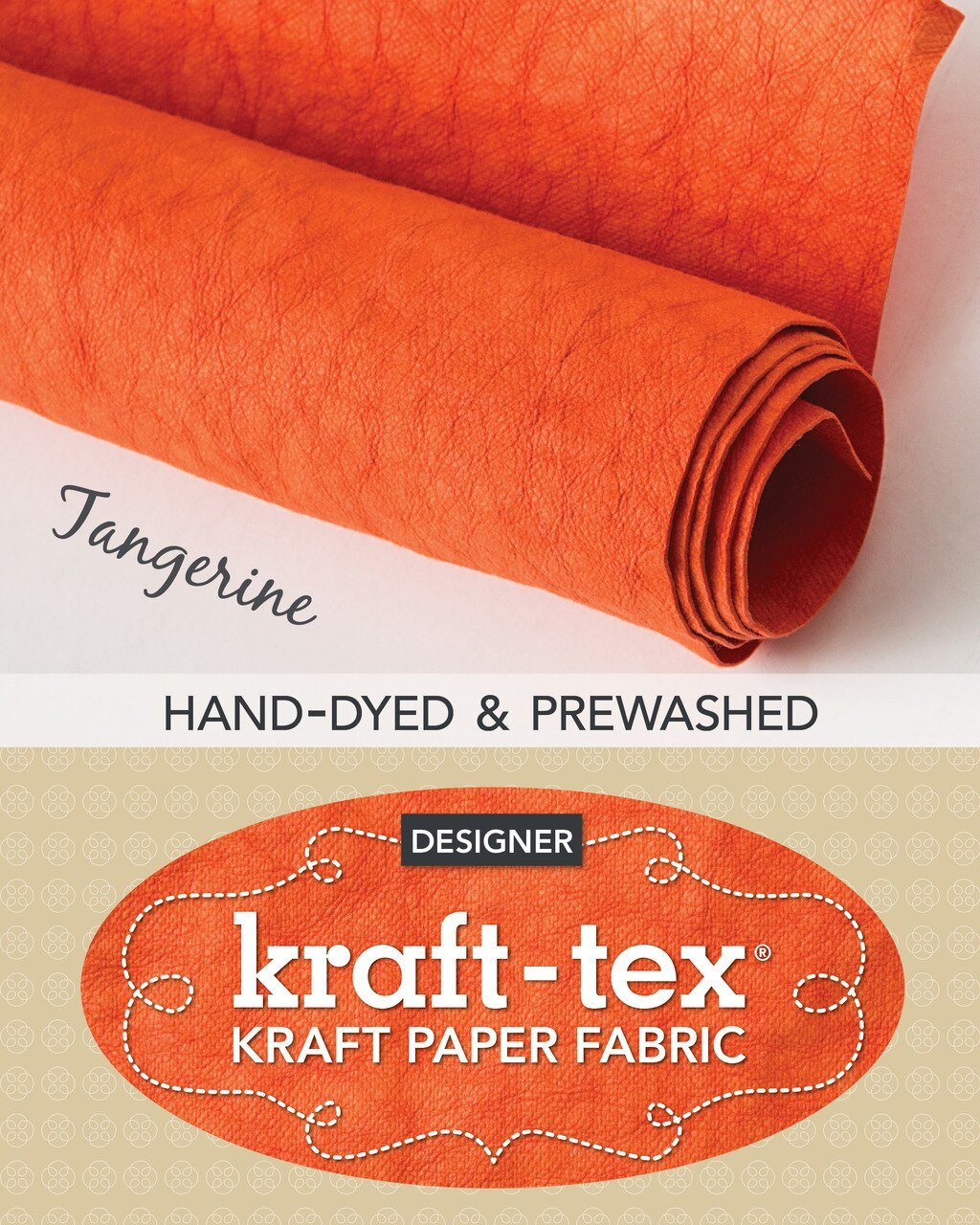 Kraft-Tex Paper Roll tangerine 20386CT