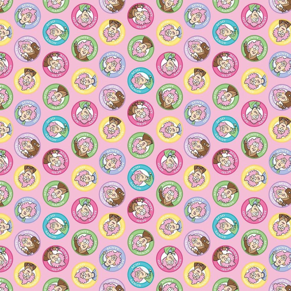 20719-21 Aunty Acid Portrait Circles multi