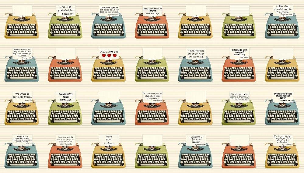 21889-11 Typewriters multi