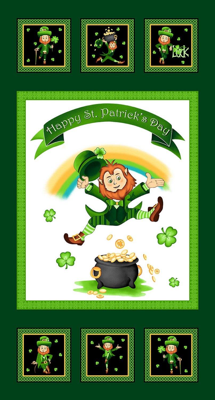 2398P-68 Irish Folk Panel emerald