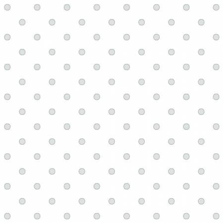 4486-25042-LTGRY1 Dots on white