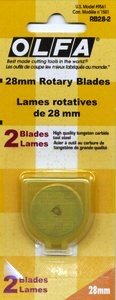 28 mm Rotary Blade Refills 2ct