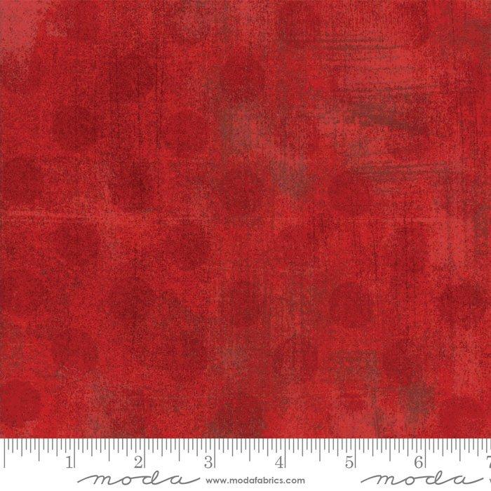 30149-22 Grunge Dots red