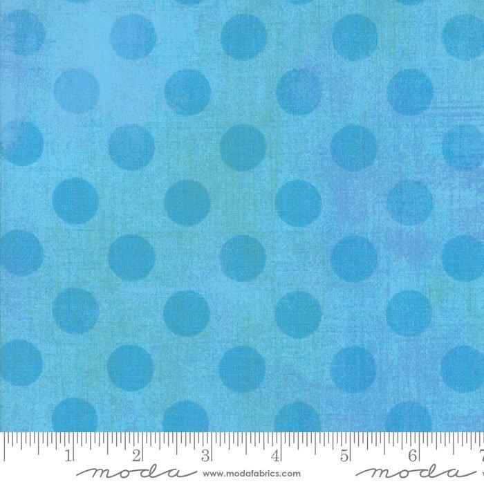 30149-26 Grunge Dots sky blue