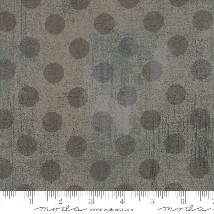 30149-33 Grunge Dots gray couture