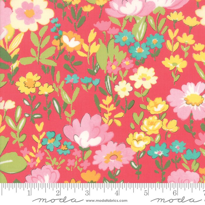 33320-17 English Garden pink