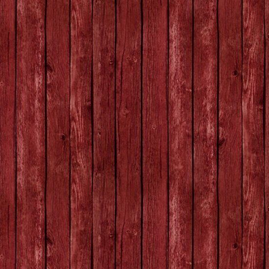 357-Red Fence Wood Grain