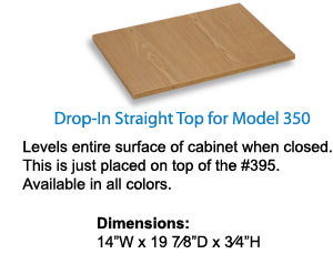 Drop-in Straight Top for 350