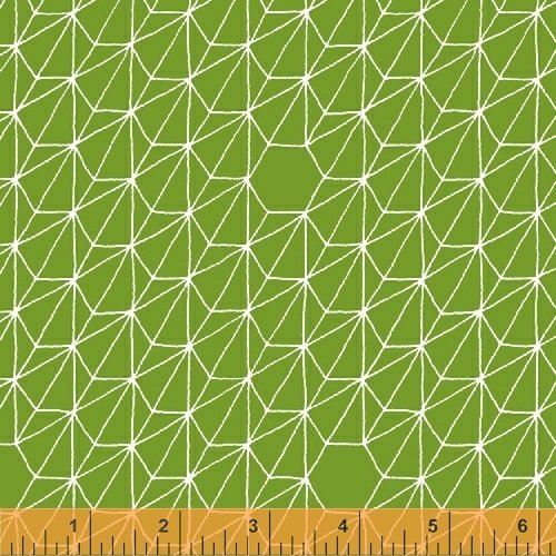 43354-10 Hexagons grass