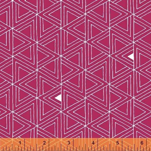 43357-18 Triangles peony