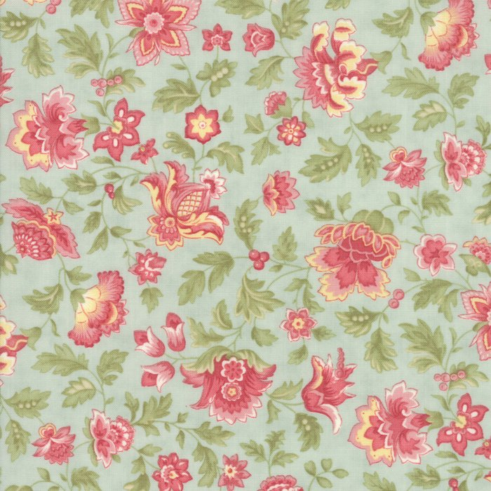 Quilt Porcelain Porcelain Silver 44194 21 by 3 Sisters for Moda Fabrics