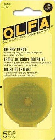 45mm Rotary Blade Refills 5ct