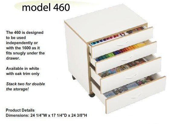 Drawer Stack 460W - Four Drawers
