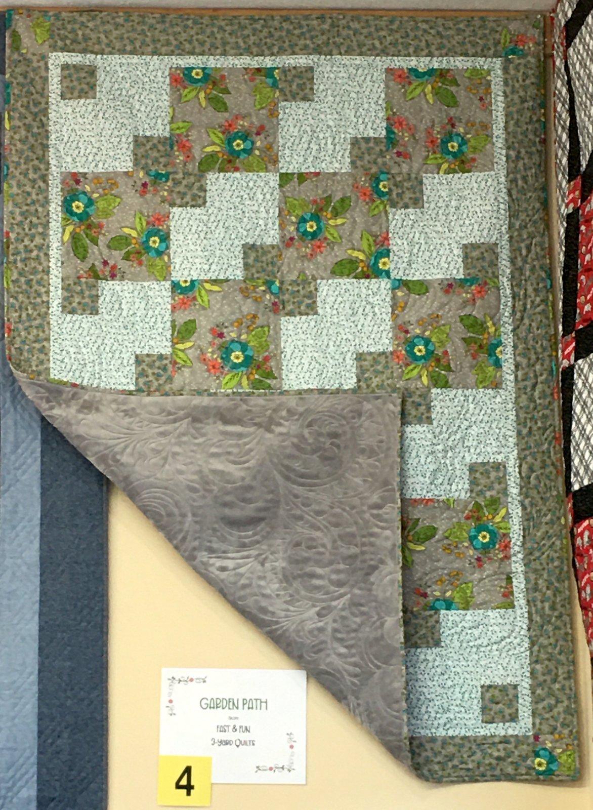 Garden Path Fabric Kit #4