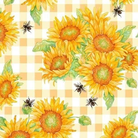 5127-44 Sunflowers multi