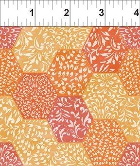 5AJI2 Hexagons orange
