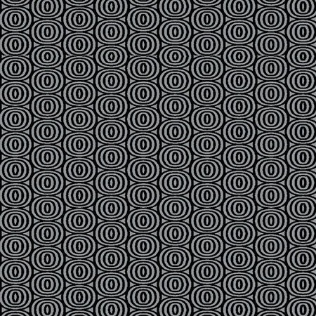 8411-11 Optic CIrcles black on gray