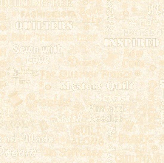 8664-44 Shop Hop Words Texture cream