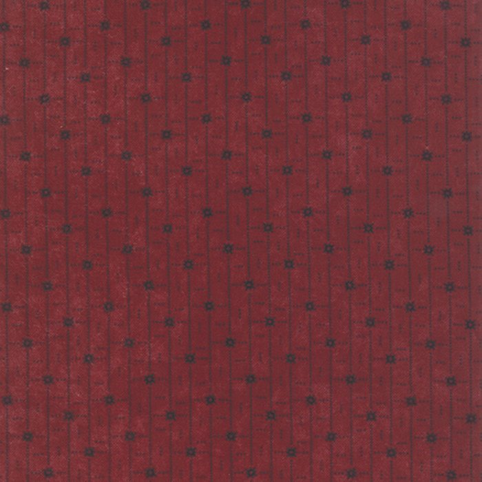 9503-13F Cozy Cottage Flannel red