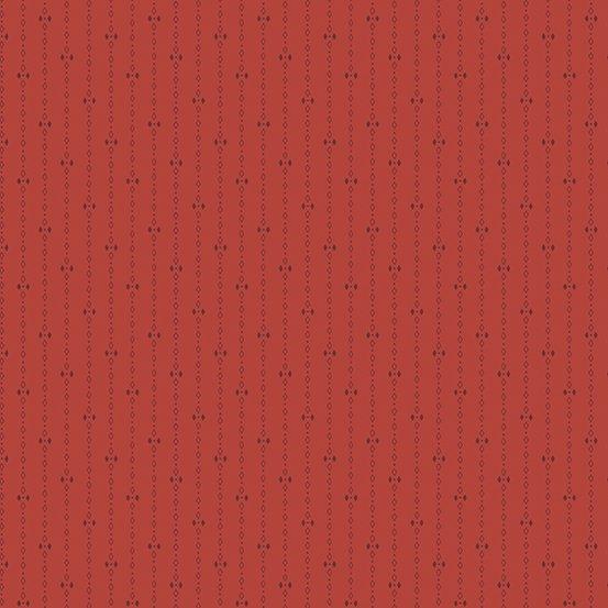 A-9744-R Diamond Stripes red