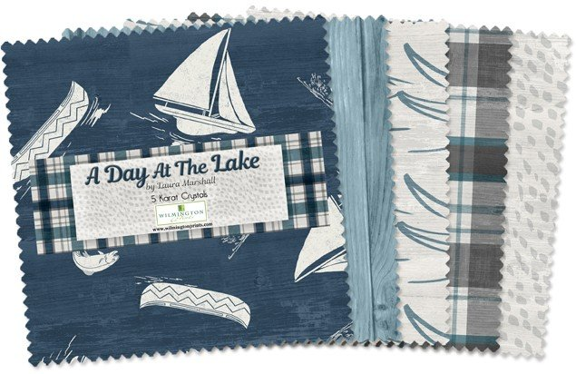 A Day at the Lake 5 Squares 508-550-508