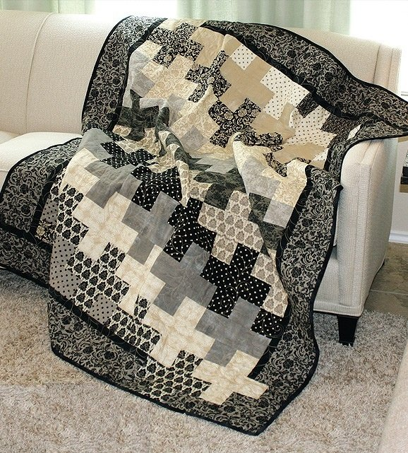 Accentuate The Positive Quilt Kit