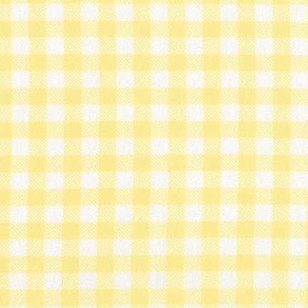 AHEF-15995-393 Flannel Plaid Bumble Bee Yellow