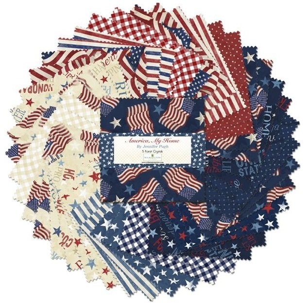America, My Home 5 Squares 508-619-508