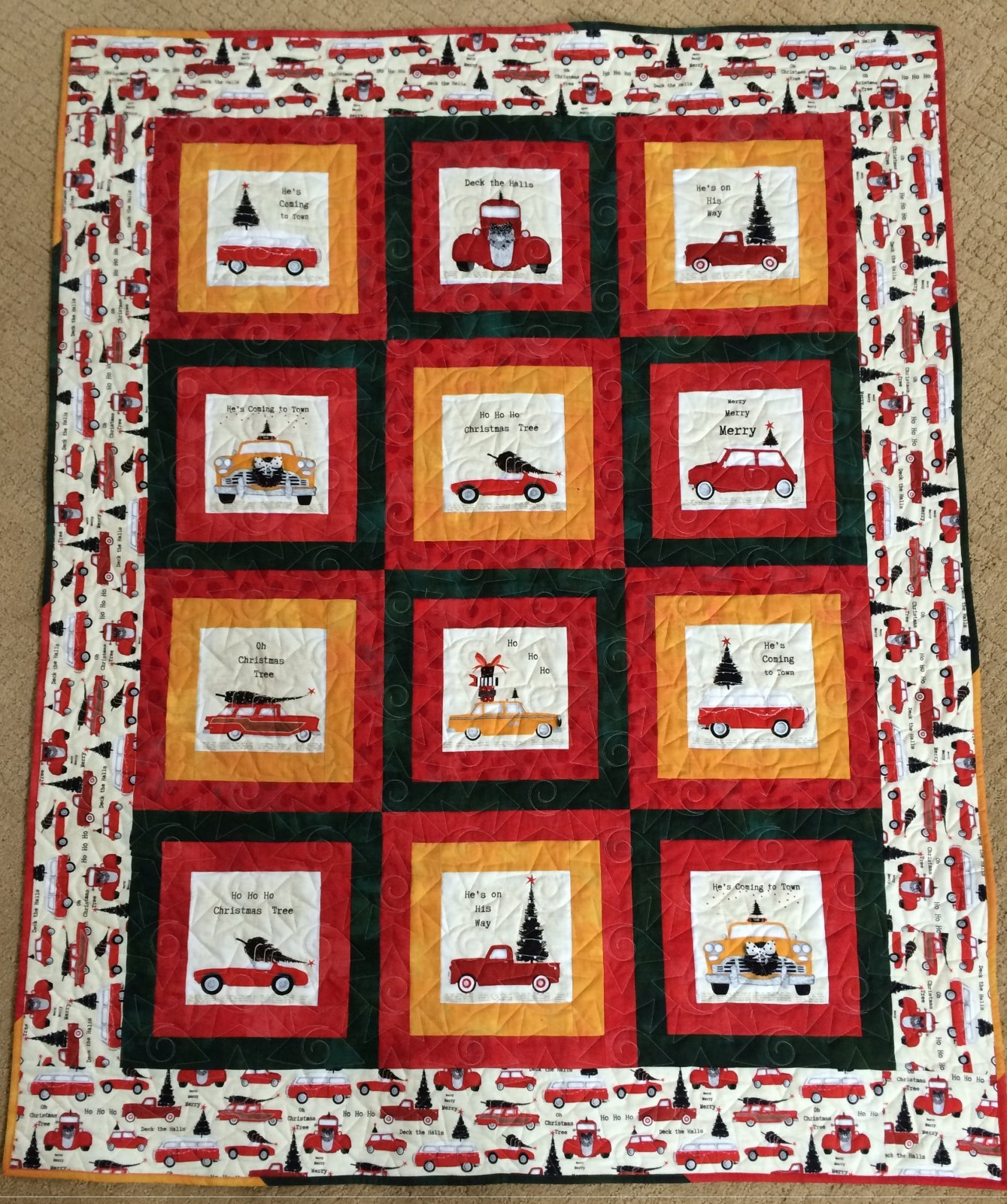 Around Town Quilt Kit - RRQ Original