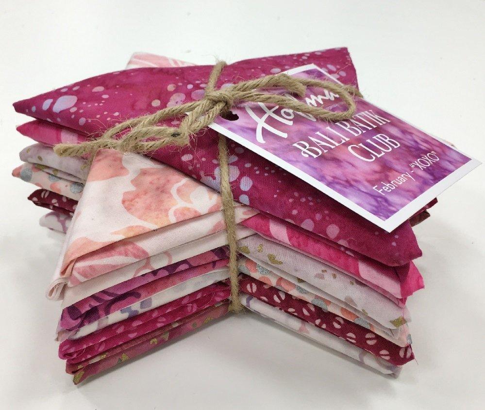 Bali Batik XOXO Fat Quarter Bundle FQAUTO-587-February