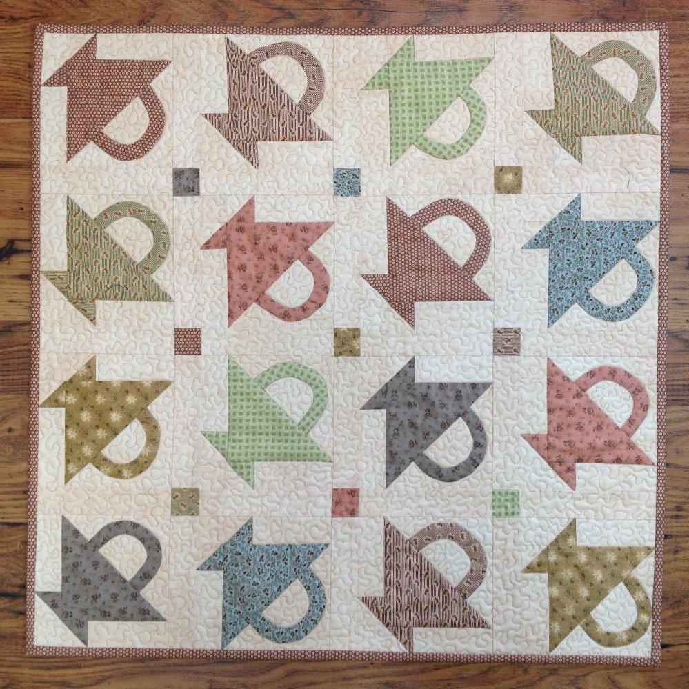 Baskets Quilt Pattern - RRQ Original