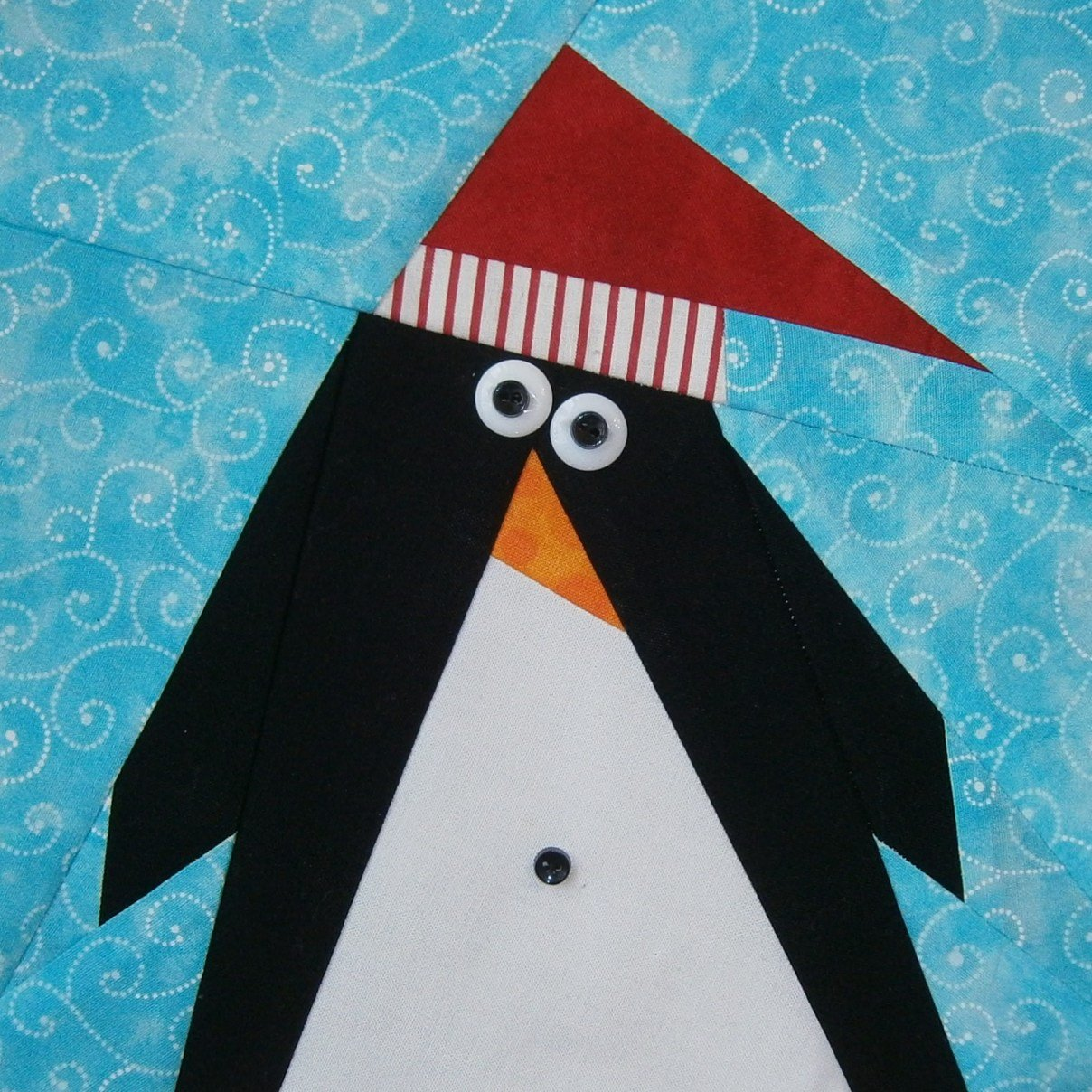 Belly Button Penguin Pattern