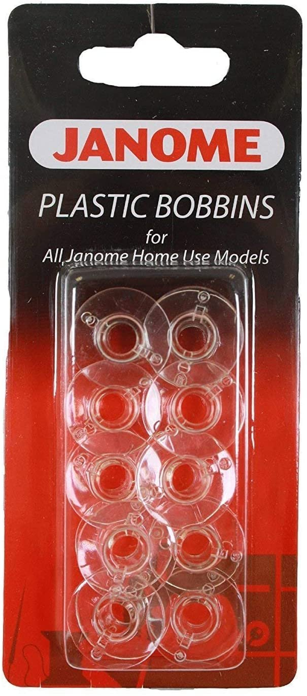 Bobbins - 10 clear reusable in package