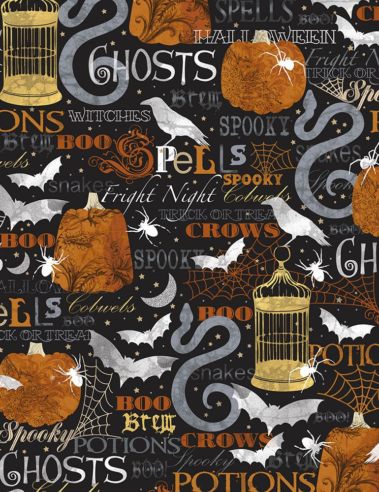 Boo-C7081-Black Spells and Potions