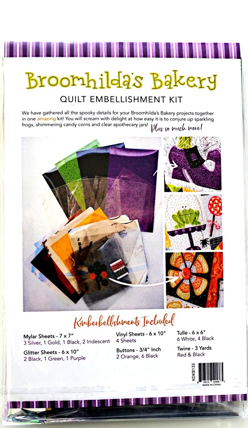 Broomhilda's Bakery Quilt Embellishments Kit
