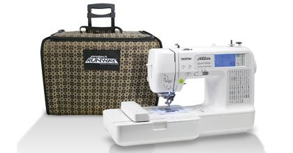 Brother LB6800PRW  Project Runway Limited Edition Combination Sewing & Embroidery Machine