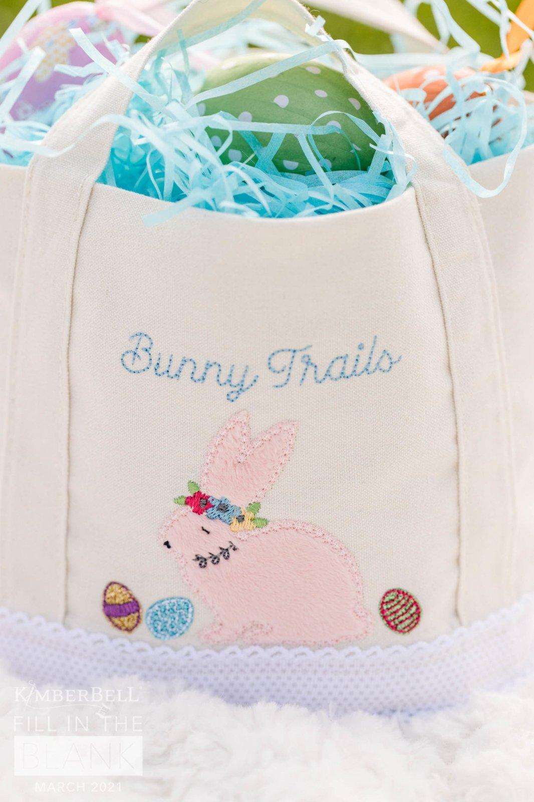 Bunny Busket Embellishment Kit