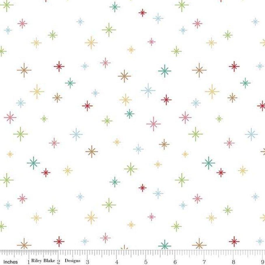 C5365-WHITE Cozy Christmas Sparkle