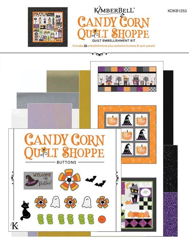 PRE-ORDER Candy Corn Quilt Shoppe Embellishment Kit
