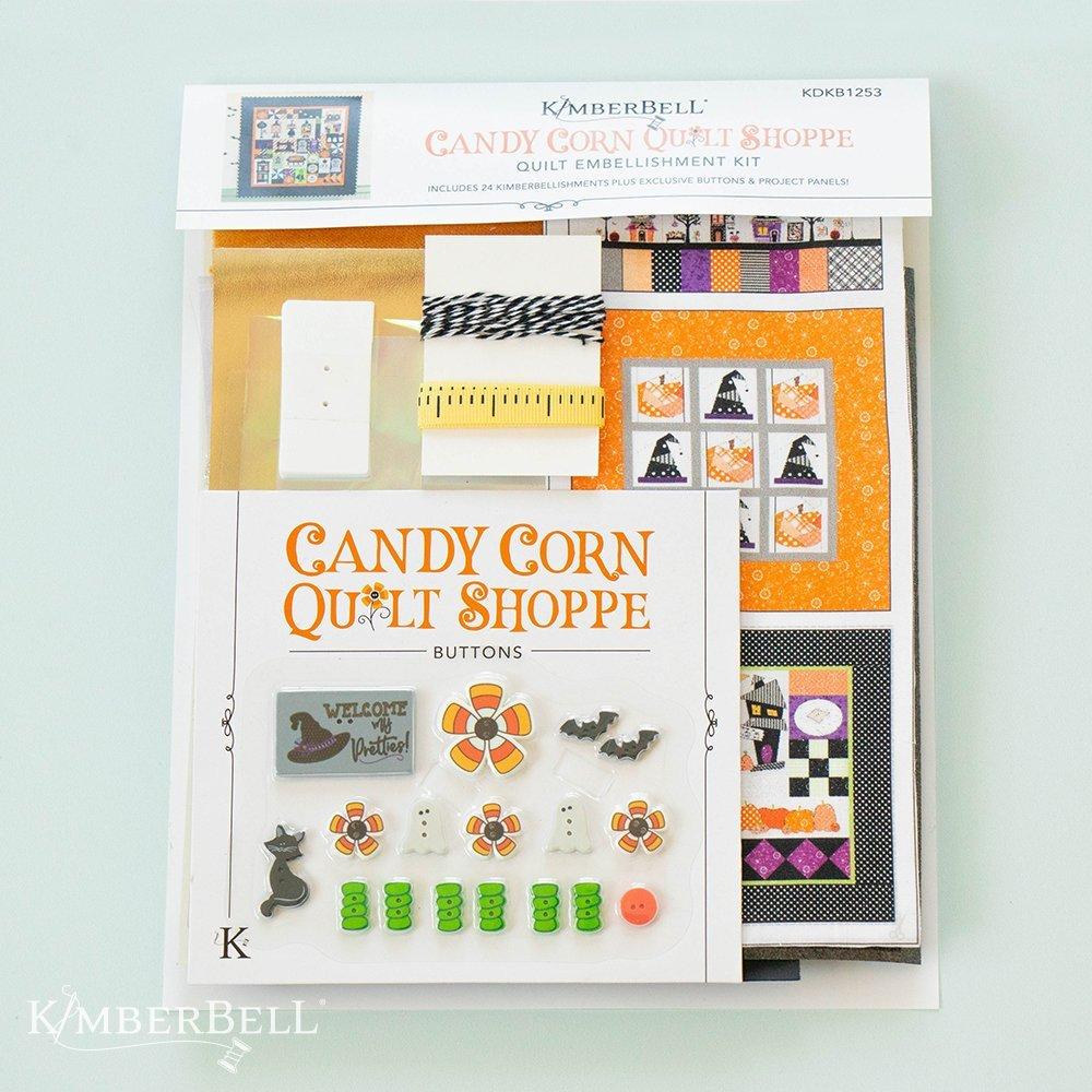 Candy Corn Quilt Shoppe Embellishments Kit