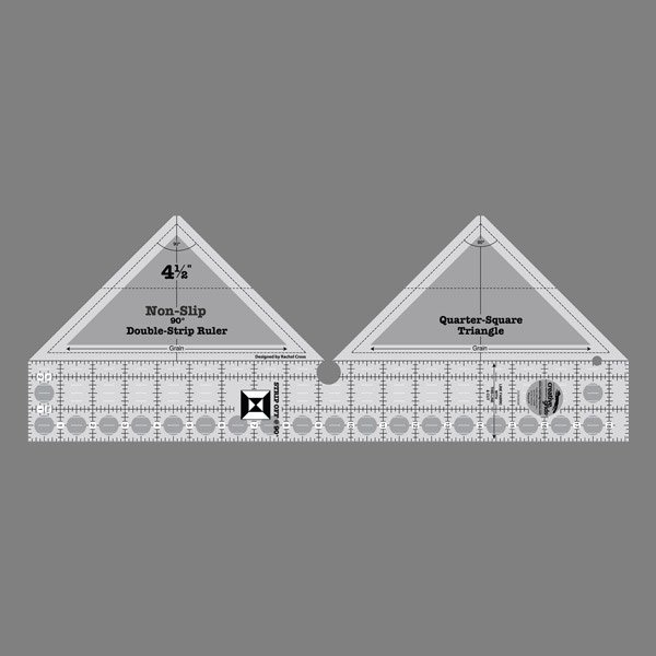 90 Degree Double-Strip Ruler