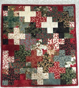 Christmas Crosses Quilt Pattern - RRQ Original