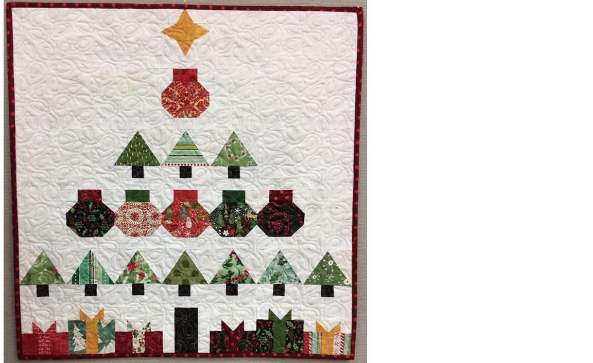 Christmas Tree Quilt Free Block