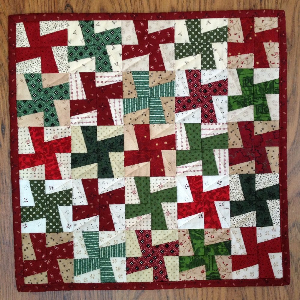 Christmas Windmills Quilt Pattern - RRQ Original